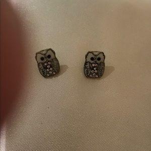 Jewelry - Owl earrings. No flaws
